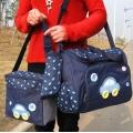 ms - bag 01 กระเป๋าคุณแม่ ใส่สัมภาระลูกน้อย สีน้ำเงิน