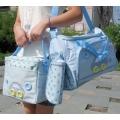 ms - bag 02 กระเป๋าคุณแม่ ใส่สัมภาระลูกน้อย สีฟ้า