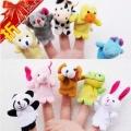 toy - 01 ตุ๊กตาหุ่นนิ้วมือ เซทสัตว์น้อย 10 ตัว